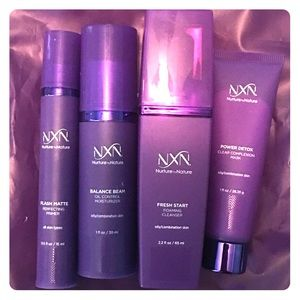 Nurture by Nature oily/combo skin care set